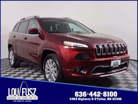 Pre-Owned 2018 Jeep Cherokee Overland 4WD Sport Utility
