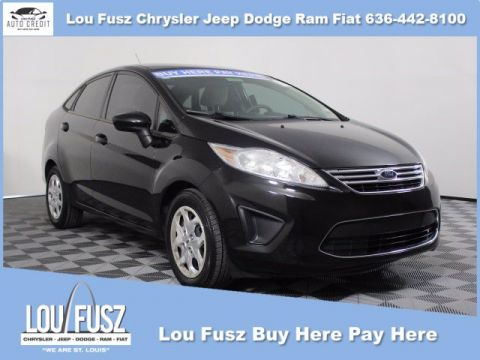 Pre-Owned 2012 Ford Fiesta SE FWD 4dr Car