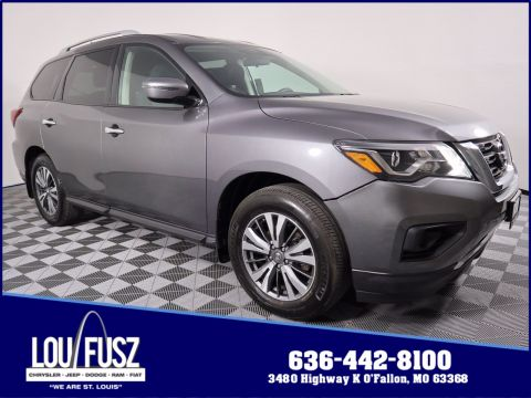 Pre-Owned 2017 Nissan Pathfinder S 4WD Sport Utility